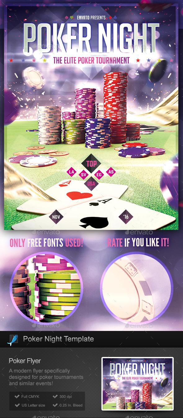Poker Nights - Flyer Template - Miscellaneous Events