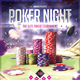 Poker Nights - Flyer Template - GraphicRiver Item for Sale
