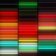 Neon Lamps Equalizer Wall VJ Loop - VideoHive Item for Sale