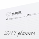 Weekly Planner 2017 over 114 pages - GraphicRiver Item for Sale