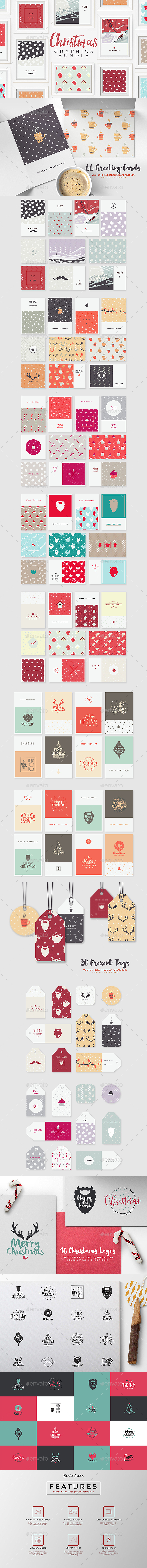 Christmas Graphics Pack - Christmas Seasons/Holidays