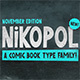 Nikopol Typeface - GraphicRiver Item for Sale