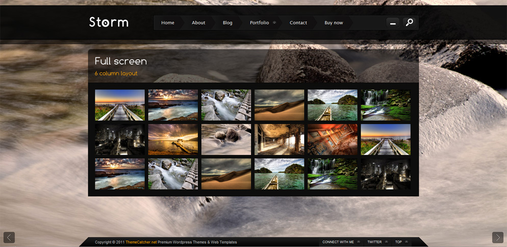 Storm - Full Screen Background Template by ThemeCatcher | ThemeForest