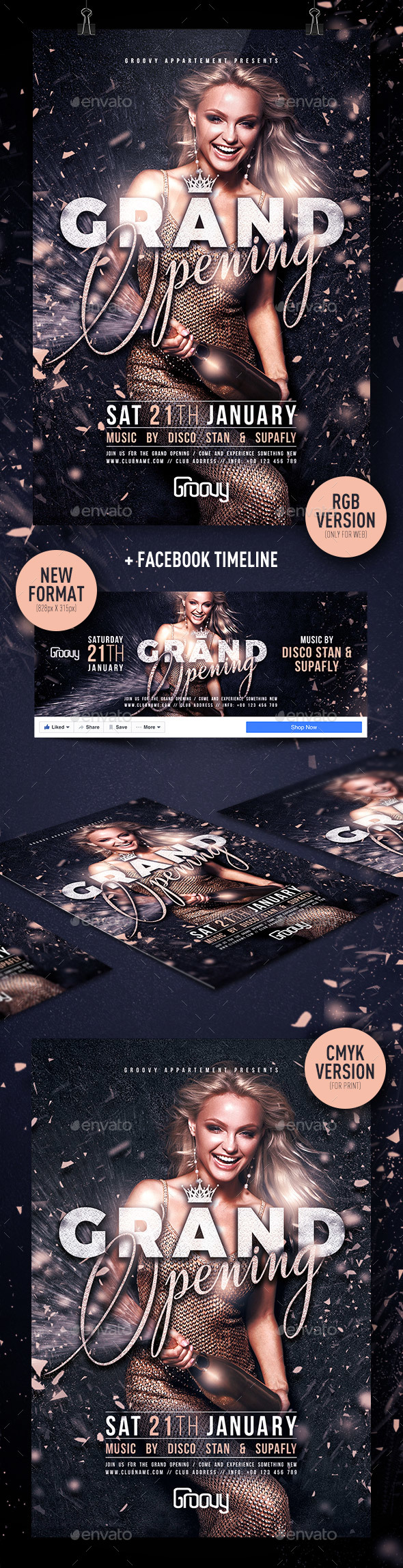 Grand Opening V1 - Clubs & Parties Events
