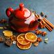 Teapot with dry tea - PhotoDune Item for Sale
