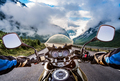 Biker First-person view - PhotoDune Item for Sale