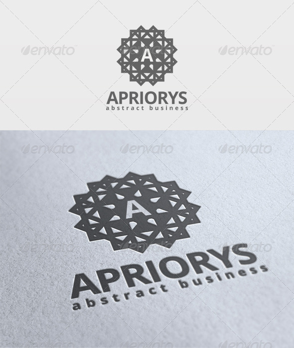 Apriorys Logo - Letters Logo Templates