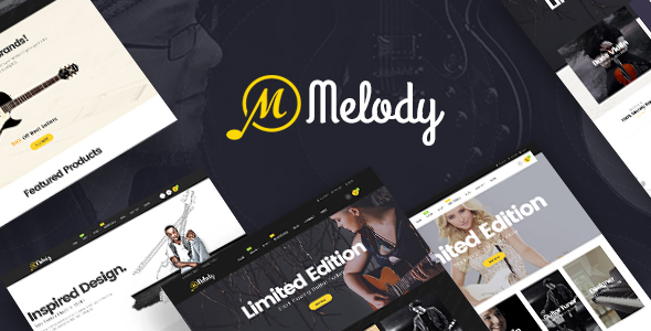Melody - WordPress Theme for Musical Instruments & Music BandClub - WooCommerce eCommerce