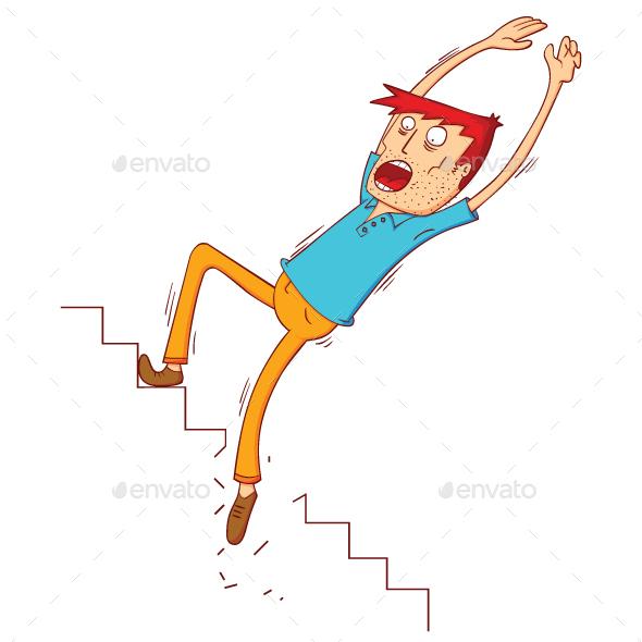 Broken Stair - People Characters