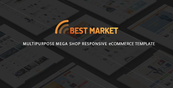 BestMarket – Multipurpose eCommerce Template