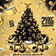 Black and Gold Christmas Party - GraphicRiver Item for Sale
