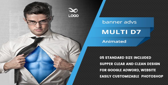 Multi Purpose Banners HTML5 D8 - Animate - CodeCanyon Item for Sale