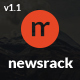 Newsrack - Responsive WordPress Blog Theme With Infinitive Load Nulled