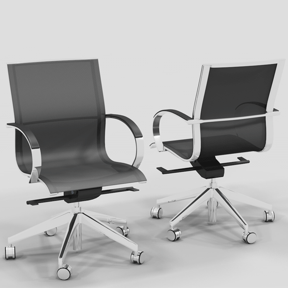 Meeting Chair EM 202 MESH - 3DOcean Item for Sale