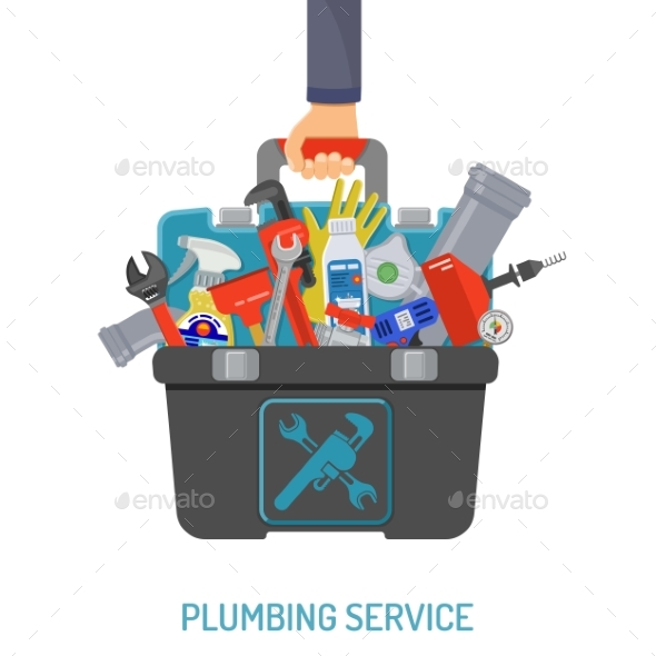 Plumbing Service Concept - Services Commercial / Shopping