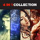 4 in 1 Collection CS3+ - GraphicRiver Item for Sale