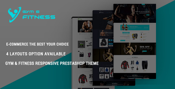 Gym & Fitness – Responsive Prestashop Theme