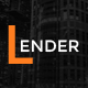 Lender | Multipurpose PSD Template