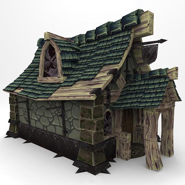 FantacyBuilding - 3DOcean Item for Sale