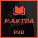 Maktba News / Magazine PSD Template - ThemeForest Item for Sale