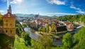 Panoramic View of Cesky Krumlov, Czech Republic - PhotoDune Item for Sale