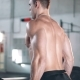 Rear Side View On Man Exercising At Gym - VideoHive Item for Sale