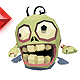 Micro Zombie Brian - Faceted Style - 3DOcean Item for Sale