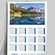 Wall Calendar 2017 | Updated -V02 - GraphicRiver Item for Sale