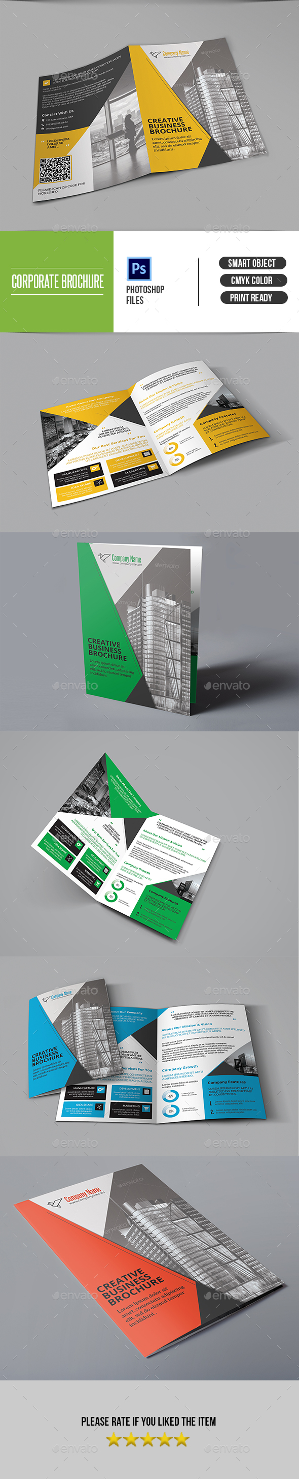 Bifold Business Brochure-V408 - Corporate Brochures