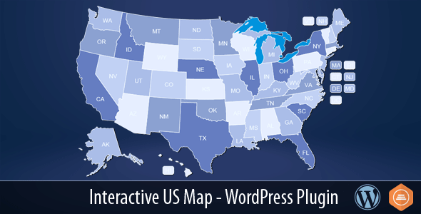 Interactive US Map - WordPress Plugin - CodeCanyon Item for Sale