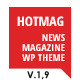 HotMag - Responsive WordPress News, Magazine and Blog Template - ThemeForest Item for Sale