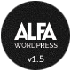 Alfa - Responsive Parallax & Retina Ready WordPress Theme for Freelancers, Studios and Agencies Nulled