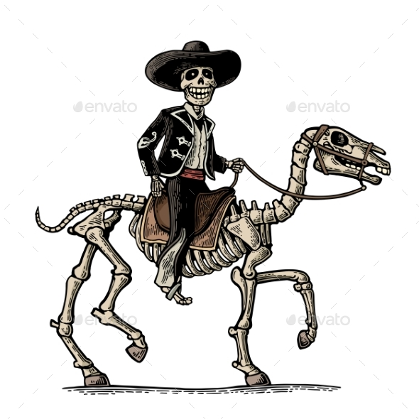 The Rider In The Mexican Man National Costumes - Halloween Seasons/Holidays
