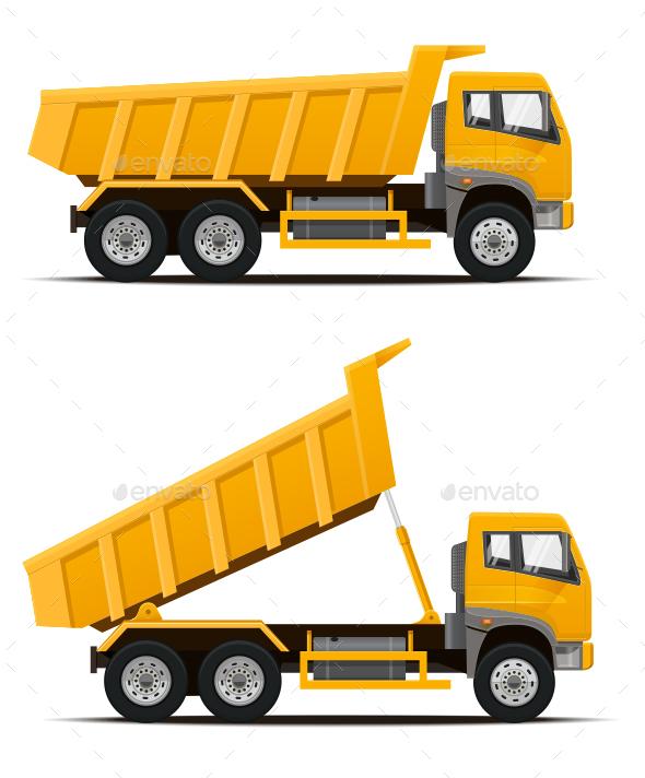 Dump Truck - Industries Business