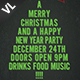 Merry Christmas Poster / Flyer V02 - GraphicRiver Item for Sale
