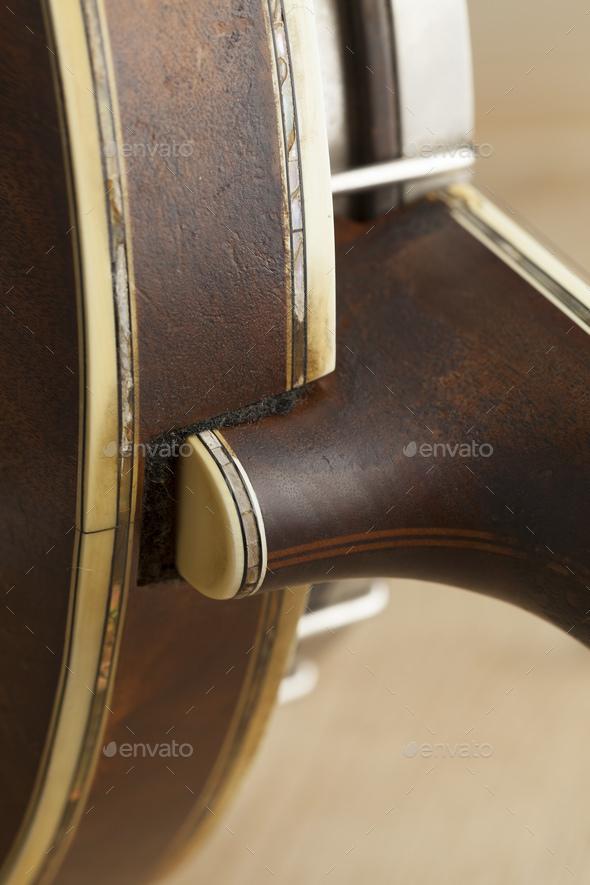 Banjo heel - Stock Photo - Images