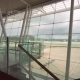 Airport Terminal Gate Footage. Window View. Airfield. - VideoHive Item for Sale