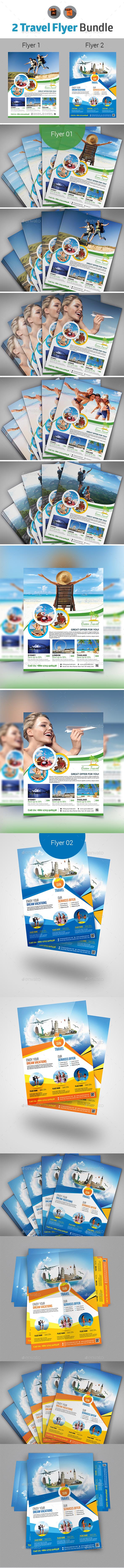 Travel Flyer Bundle - Commerce Flyers