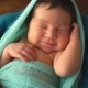 Sleeping Newborn Baby. - VideoHive Item for Sale