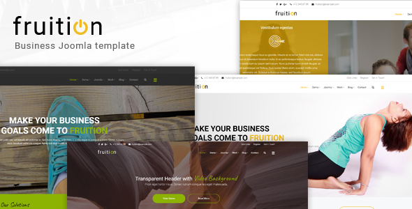 Fruition – Business Joomla Template