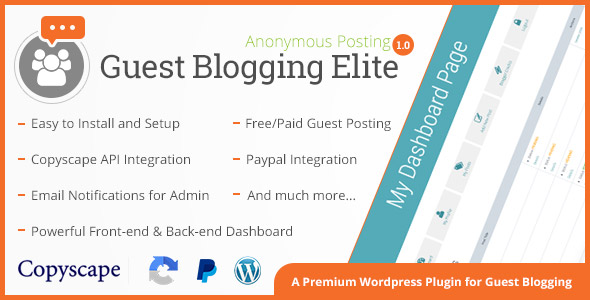 Guest Blogging Elite - CodeCanyon Item for Sale