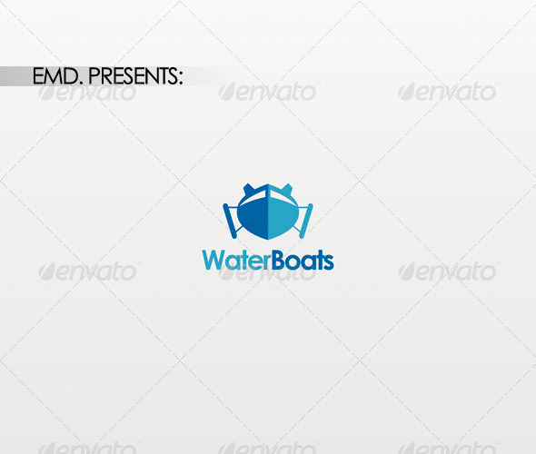 Water Boats Logo - Symbols Logo Templates