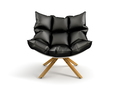 Armchair isolated on white background 3D rendering - PhotoDune Item for Sale