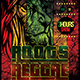 Roots Reggae Flyer Template - GraphicRiver Item for Sale
