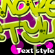 Text style - GraphicRiver Item for Sale