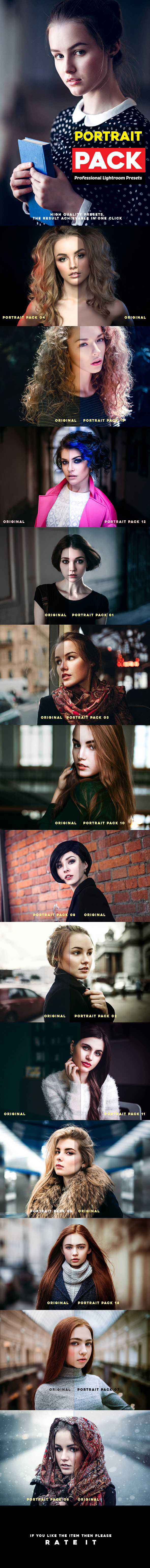 Portrait Pack 14 Professional Lightroom Presets - Portrait Lightroom Presets
