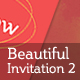 Invitation 2 - GraphicRiver Item for Sale