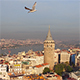 Aerial Wide View of Galata Tower - VideoHive Item for Sale