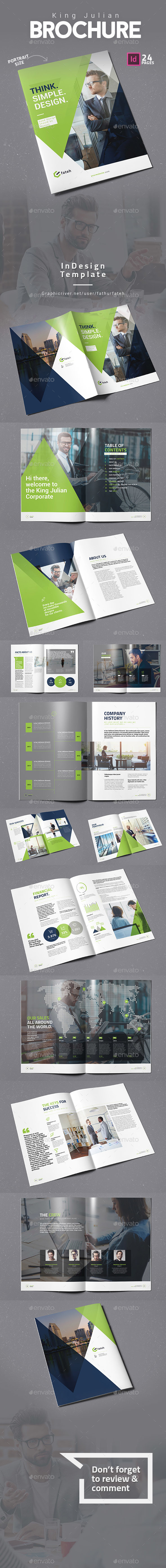 King Julian Brochure - Corporate Brochures