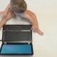 Little Boy Using Laptop. - VideoHive Item for Sale